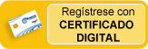 Registro con certificado digital